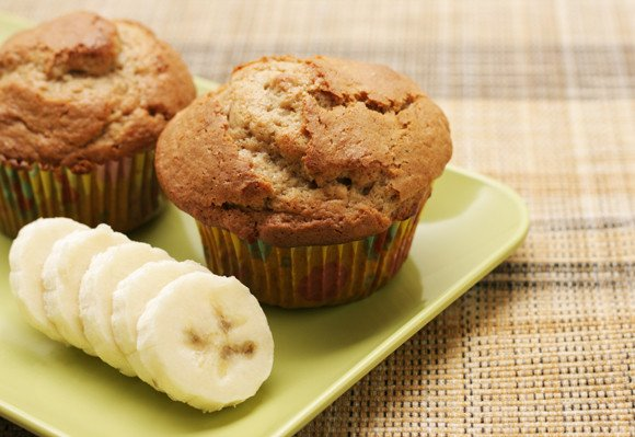 Delicious Low-Gi Banana Muffins for Afternoon Tea?