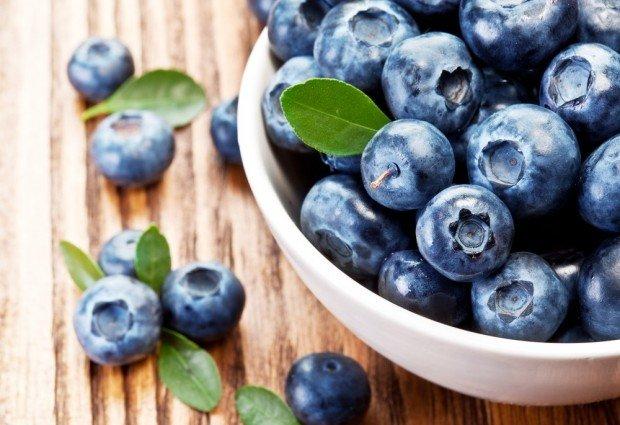 blueberries & brain