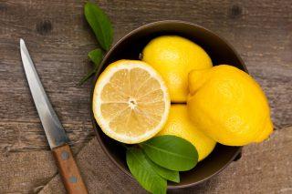 lemons and natural fair skin