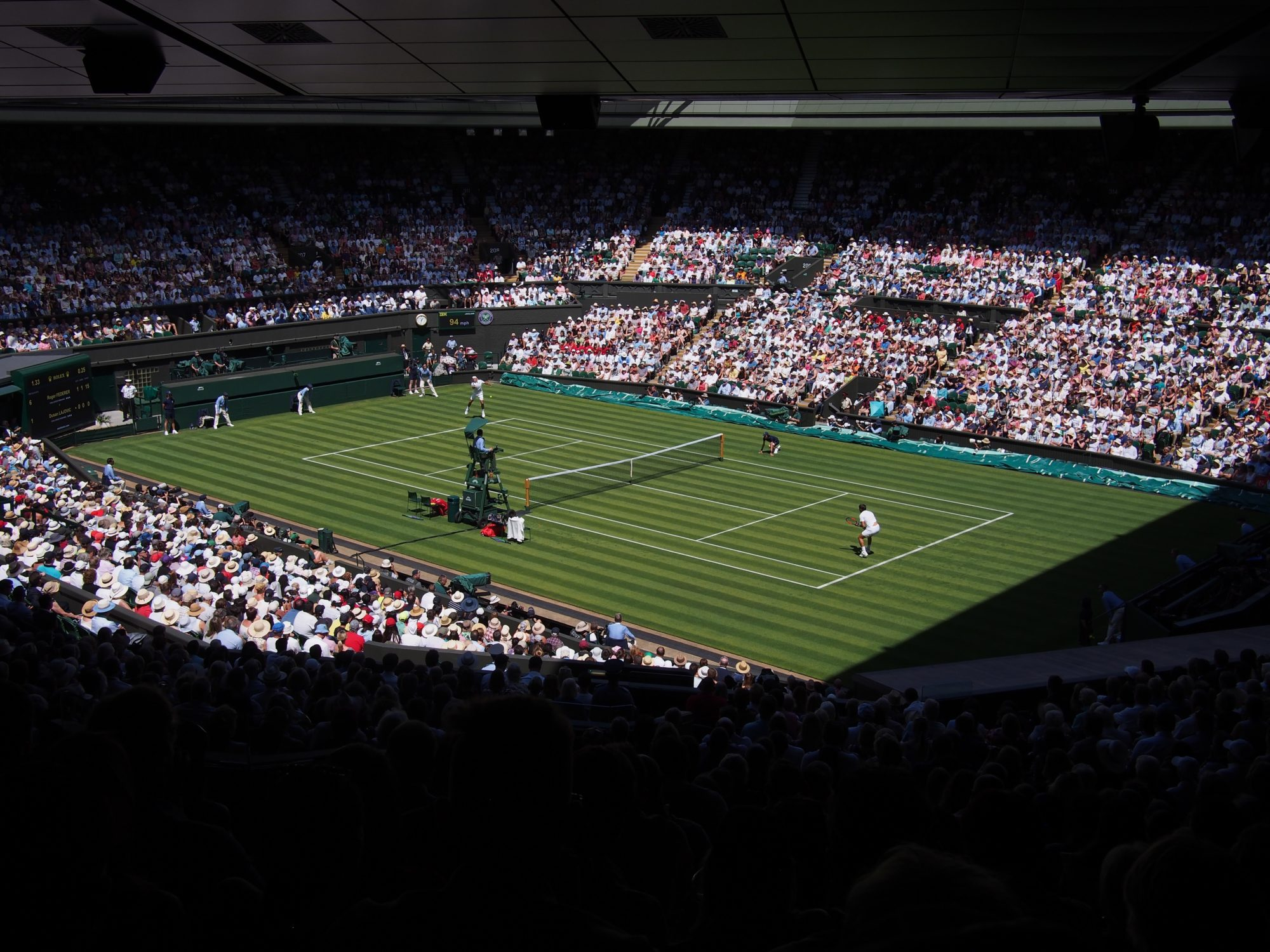 Wimbledon: How Do The World's Top Tennis Players Stay In Shape?