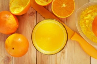 orange juice   Longevity LIVE