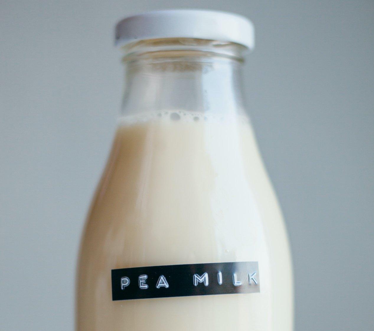 Plant-Based Milk Has A New Contender: Meet Pea Milk