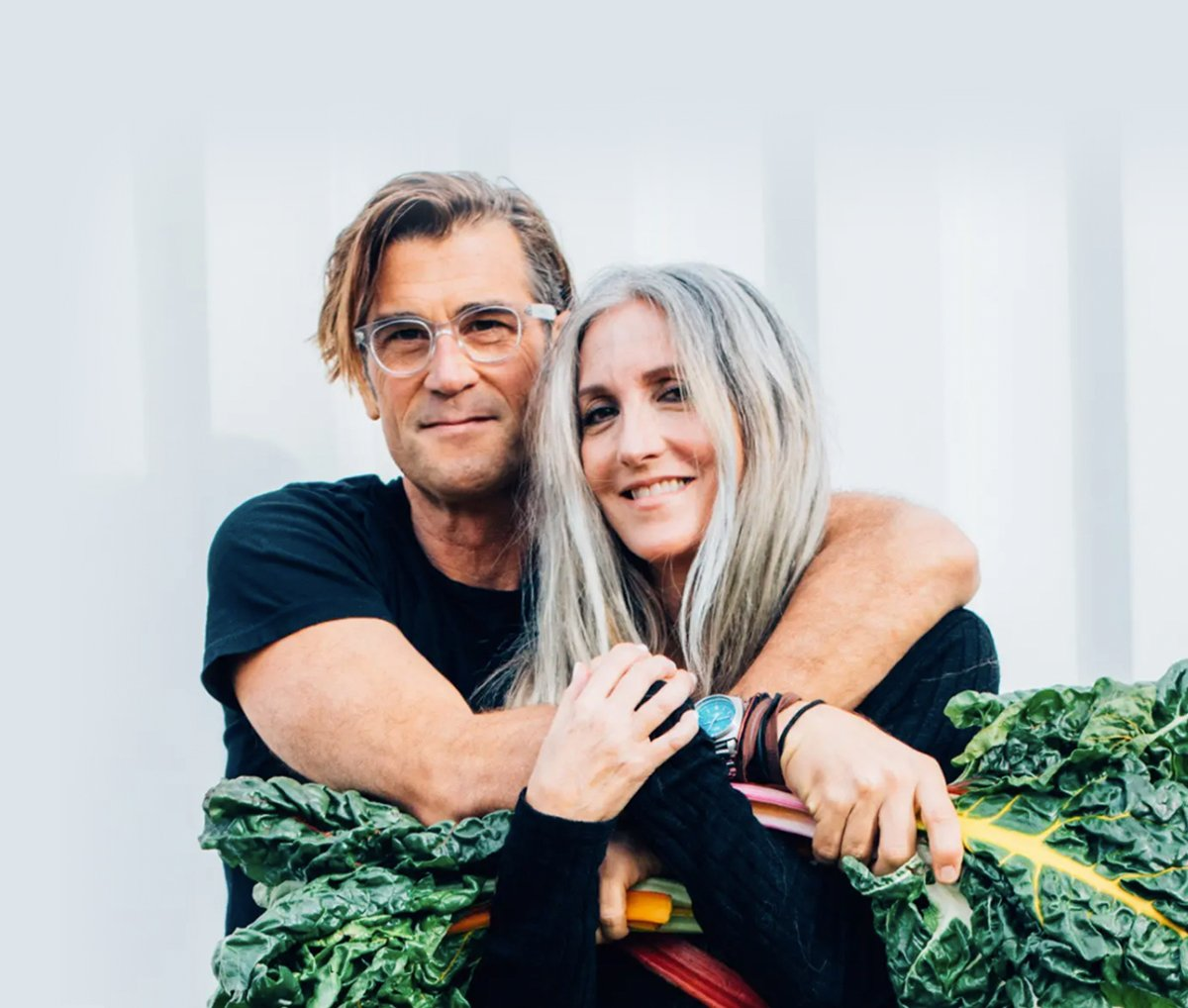 Rich Roll and Julie Piatt