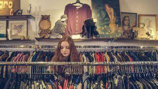 thrift shopping I sustainable