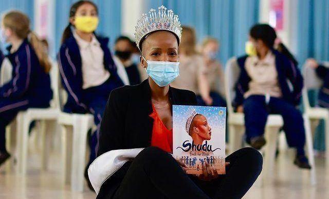 Miss South Africa Shudu Musida Speaks Up For the Mental Health of Children